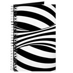Zebra Swirl Art Journal