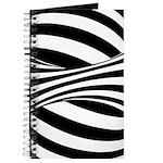 Zebra Swirl Art Journal