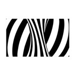 Zebra Swirl Art 38.5 x 24.5 Wall Peel