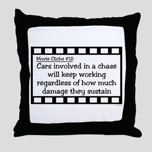 Cliche12 Throw Pillow