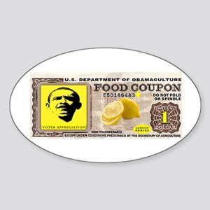 BUYING VOTES Sticker (Oval)