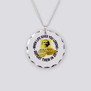 BUYING VOTES Necklace Circle Charm