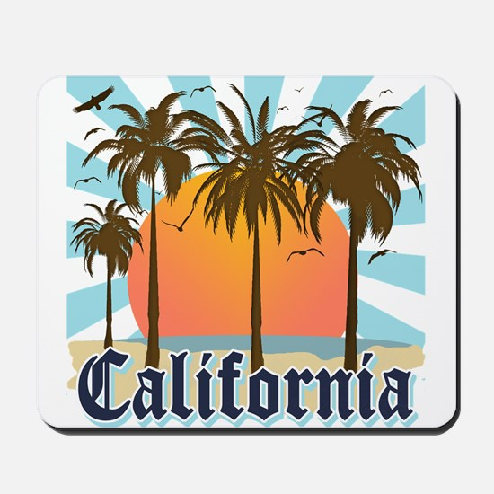 Vintage California Mousepad