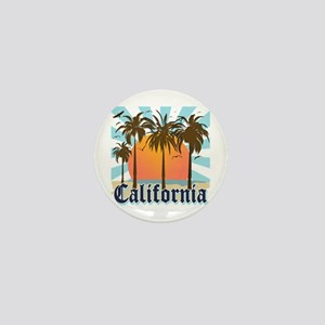 Vintage California Mini Button