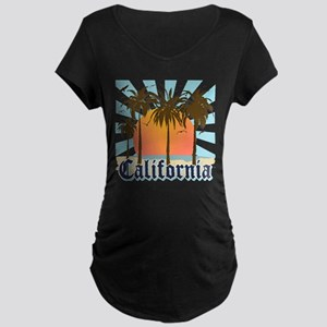 Vintage California Maternity Dark T-Shirt
