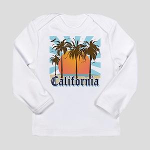 Vintage California Long Sleeve Infant T-Shirt