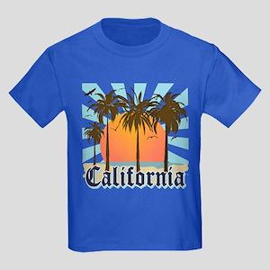 Vintage California Kids Dark T-Shirt