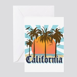 Vintage California Greeting Card