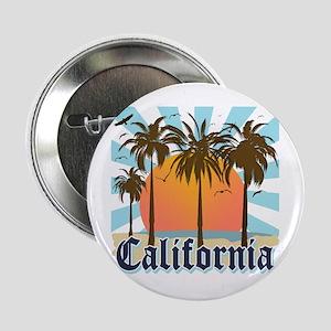 """Vintage California 2.25"""" Button"""