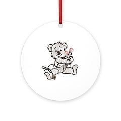 Slave Bear Ornament (Round)