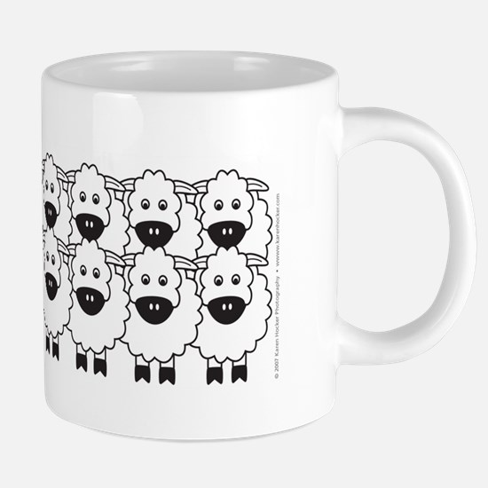 kelpieSheep_mug.png 20 oz Ceramic Mega Mug