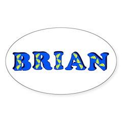 Brian Sticker (Oval)