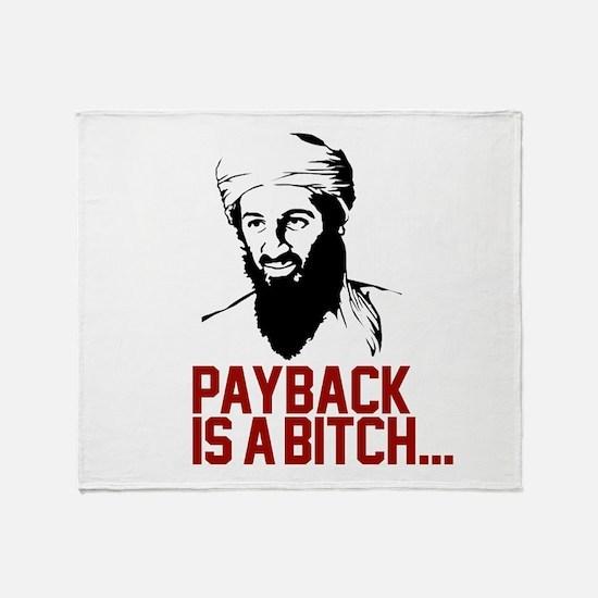 Unique Osama dead Throw Blanket