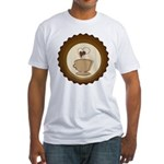 Coffee Lovers Fitted T-Shirt