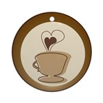 Coffee Lovers Ornament (Round)