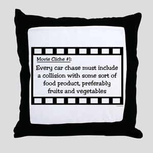Cliche1 Throw Pillow