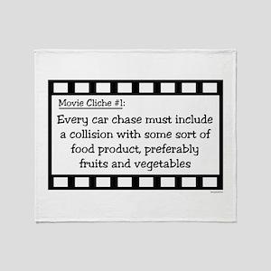 Cliche1 Throw Blanket