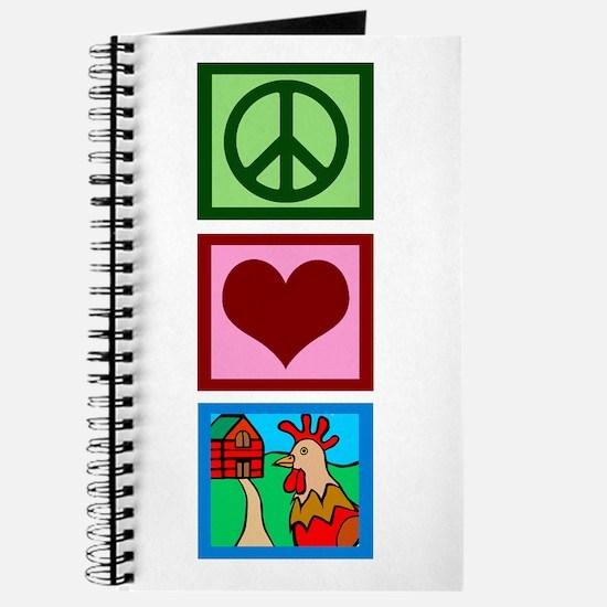 Peace Love Farm Journal