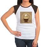 Coffee Lovers Women's Cap Sleeve T-Shirt