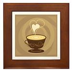 Coffee Lovers Framed Tile