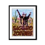 Saguaro Zombies Zombie 3 Framed Panel Print