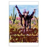 Saguaro Zombies Zombie 3 Large Poster