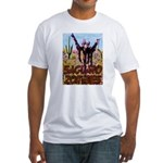 Saguaro Zombies Zombie 3 Fitted T-Shirt