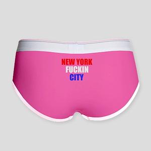New York Fuckin City USA Amer Women's Boy Brief