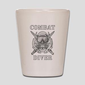 Combat Diver (1) Shot Glass