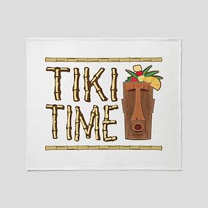 Tiki Time - Throw Blanket