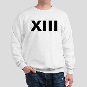 Xiii (13 In Roman Numerals) Light Sweatshirt
