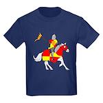 Medieval Knight Kids Dark T-Shirt
