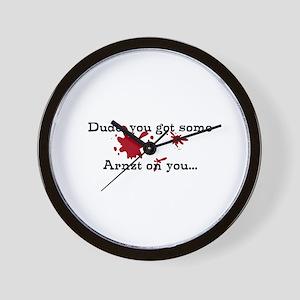 Arnzt is Fine Wall Clock