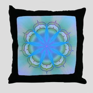 LightoftheLotus40 Throw Pillow