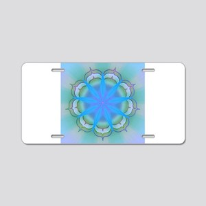 LightoftheLotus40 Aluminum License Plate