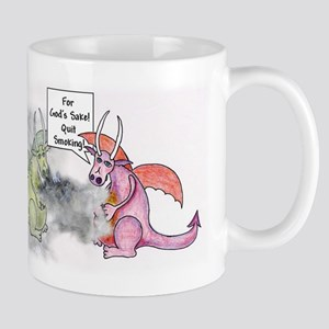 Smoking Dragon Mug