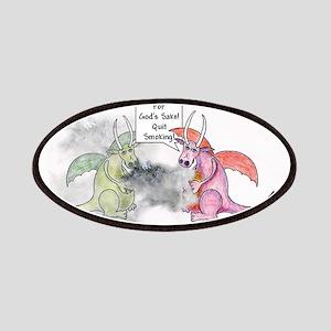 Smoking Dragon Patches