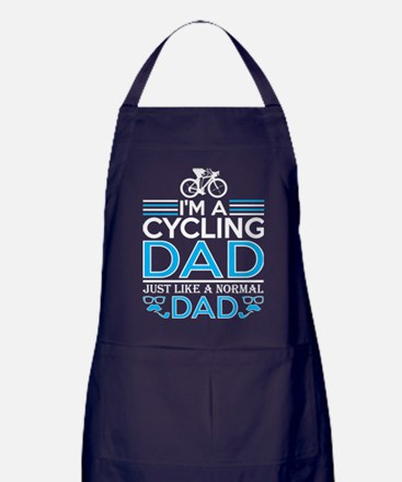Im Cycling Dad Just Like Normal Dad E Apron (dark)