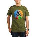 ANDrew / ANDrea Organic Men's T-Shirt (dark)