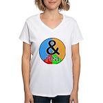 ANDrew / ANDrea Women's V-Neck T-Shirt