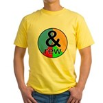 ANDrew / ANDrea Yellow T-Shirt