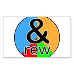 ANDrew / ANDrea Sticker (Rectangle 50 pk)