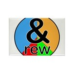 ANDrew / ANDrea Rectangle Magnet (100 pack)