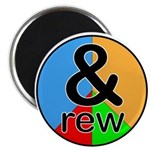 """ANDrew / ANDrea 2.25"""" Magnet (100 pack)"""
