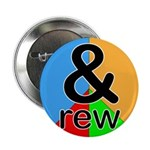 """ANDrew / ANDrea 2.25"""" Button (100 pack)"""
