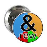 "ANDrew / ANDrea 2.25"" Button"