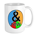 ANDrew / ANDrea Large Mug