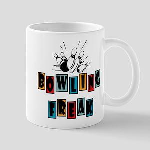 Retro Vintage Bowling Freak Mug
