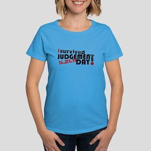 I survived judgement day -- Women's Dark T-Shirt