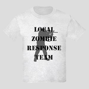 LOCAL ZOMBIE RESPONSE TEAM Kids Light T-Shirt